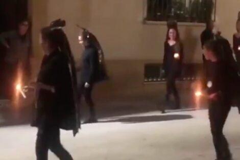 Espanha Procissao Scaled E1586024933432 Grupo De Mulheres Sai À Rua E Faz Procissão. Vídeos Geram Polémica Em Espanha