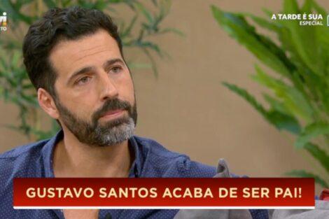Gustavo Santos Gustavo Santos Foi Pai Pela Segunda Vez: &Quot;É O Melhor Que Há&Quot;