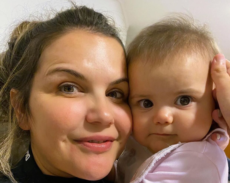 Katia Aveiro Valentina E1586440325534 As Recém-Mamãs Que Celebram O 'Dia Da Mãe' De Forma Muito Especial Este Ano