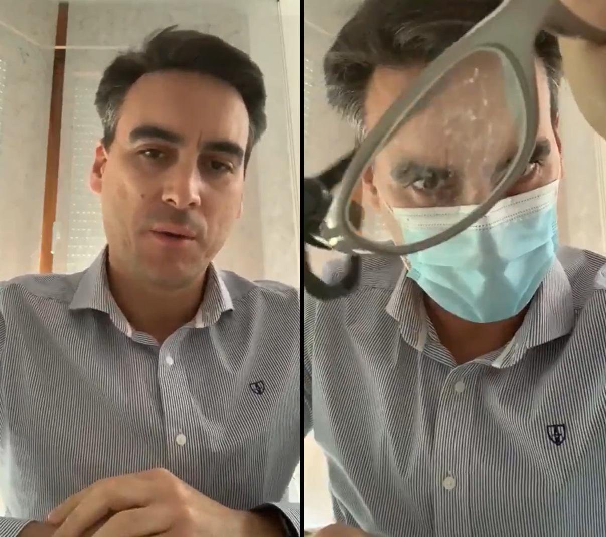 Medico Espanhol Óculos Embaciados Quando Usa Máscara? Médico Descobriu A Solução Para O Problema