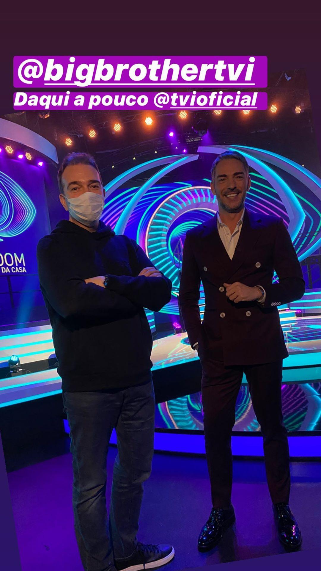 Nuno Santos Claudio Ramos Big Brother 2020. Veja O Visual De Cláudio Ramos Para A Gala De Estreia
