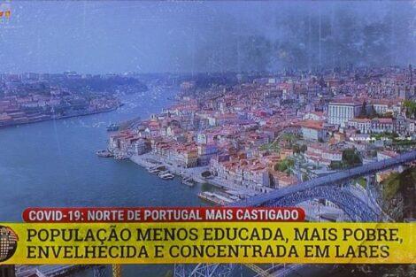 tvi reportagem polémica porto norte covid 19 Diretor de Informação da TVI reage após polémica reportagem