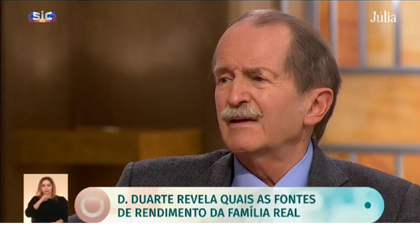 D.duarte D. Duarte Pio Revela Quais As Fontes De Rendimento Da Família
