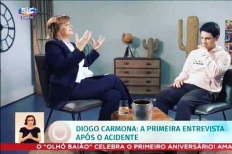 Diogo Carmona Julia Pinheiro Diogo Carmona Faz Agradecimento Muito Especial A Júlia Pinheiro