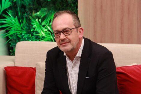 """José Alberto Carvalho Jornalista José Alberto Carvalho Confessa: """"O Jornalismo Tornou-Se Um Bocadinho Vítima De Si Próprio&Quot;"""