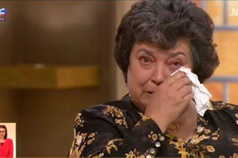 Teresa Mae Catarina Manique Agricultora Catarina Declara-Se À Mãe Em Direto E Leva-A Às Lágrimas