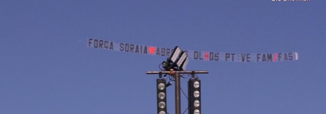 Avisao Mensagem Soraia Big Brother. Avião Sobrevoa Casa: &Quot;Soraia Amo-Te, Na Tua Cama Ninguém&Quot;