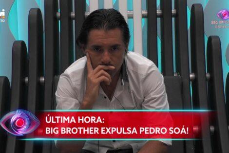 big brother pedro soa expulso Pedro Soá expulso do Big Brother por comportamento violento