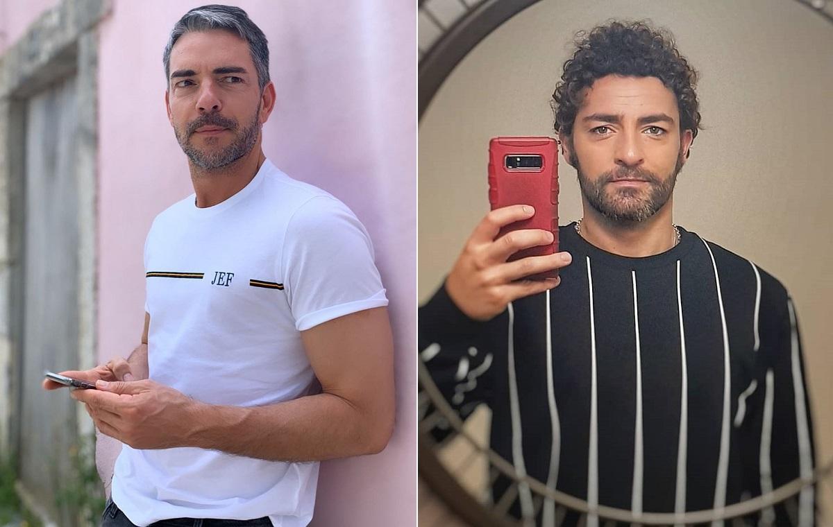 Claudio Ramos Diogo Faria Ex-Namorado De Cláudio Ramos Brinca Com O Apresentador Nas Redes Sociais