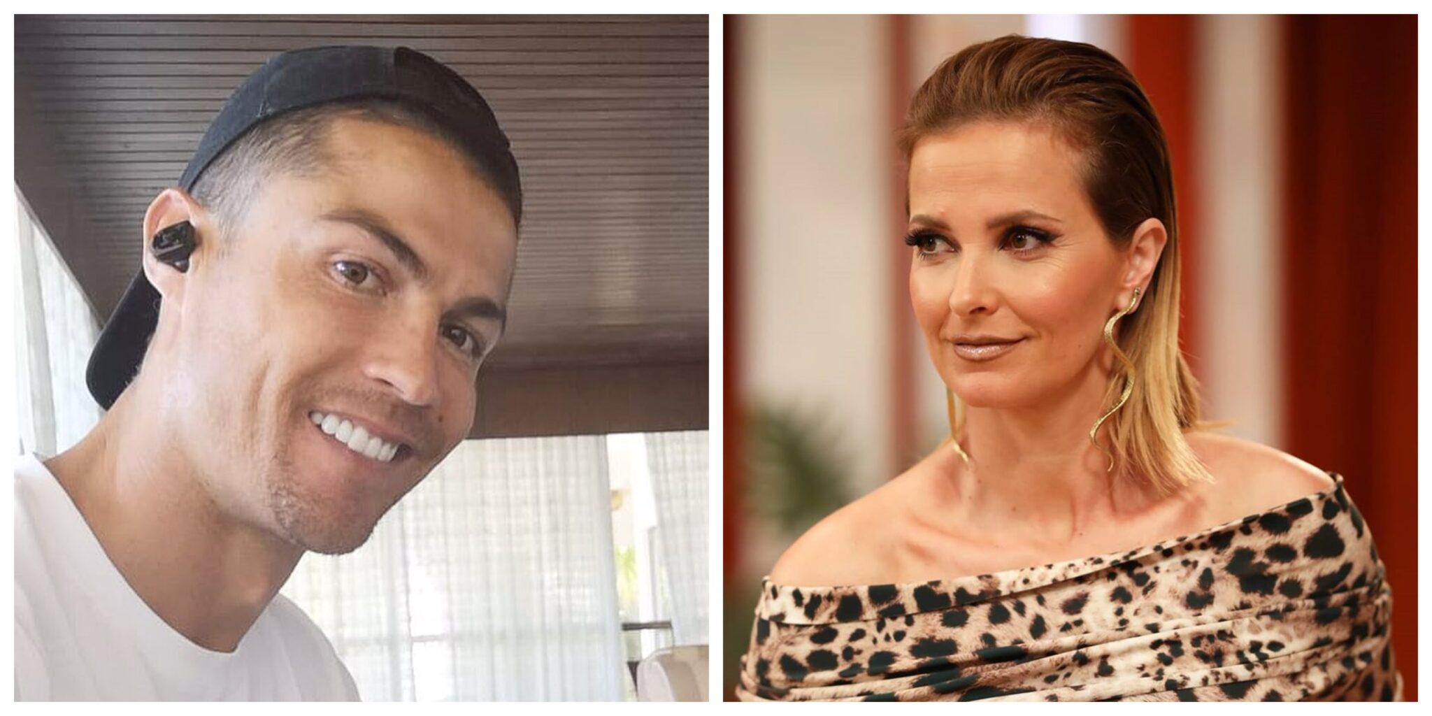 Cristianoronaldo E Cristinaferreira Scaled Cristiano Ronaldo E Cristina Ferreira Eleitos Os Portugueses Com Mais Notoriedade