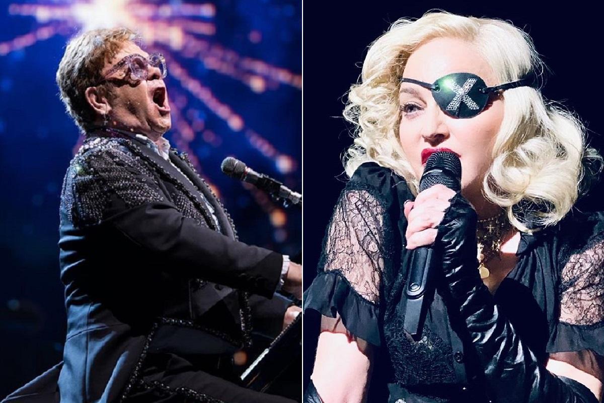 Elton John Madonna Ataque Informático! Estrelas Como Madonna E Elton John São Vítimas De Pirataria