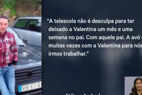 Ex Namorado Valentina Mãe De Valentina Duramente Criticada Pelo Ex-Namorado
