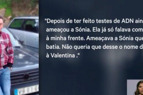 Ex Namorado Valentina.jpg2 Mãe De Valentina Duramente Criticada Pelo Ex-Namorado