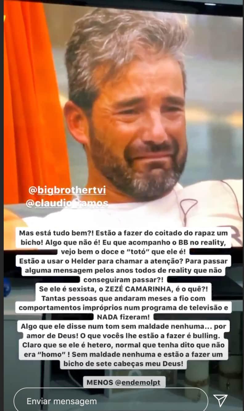 Fanny Rodrigues Helder Big Brother 1 Big Brother: Fanny Revoltada Com Decisão Da Tvi E Endemol