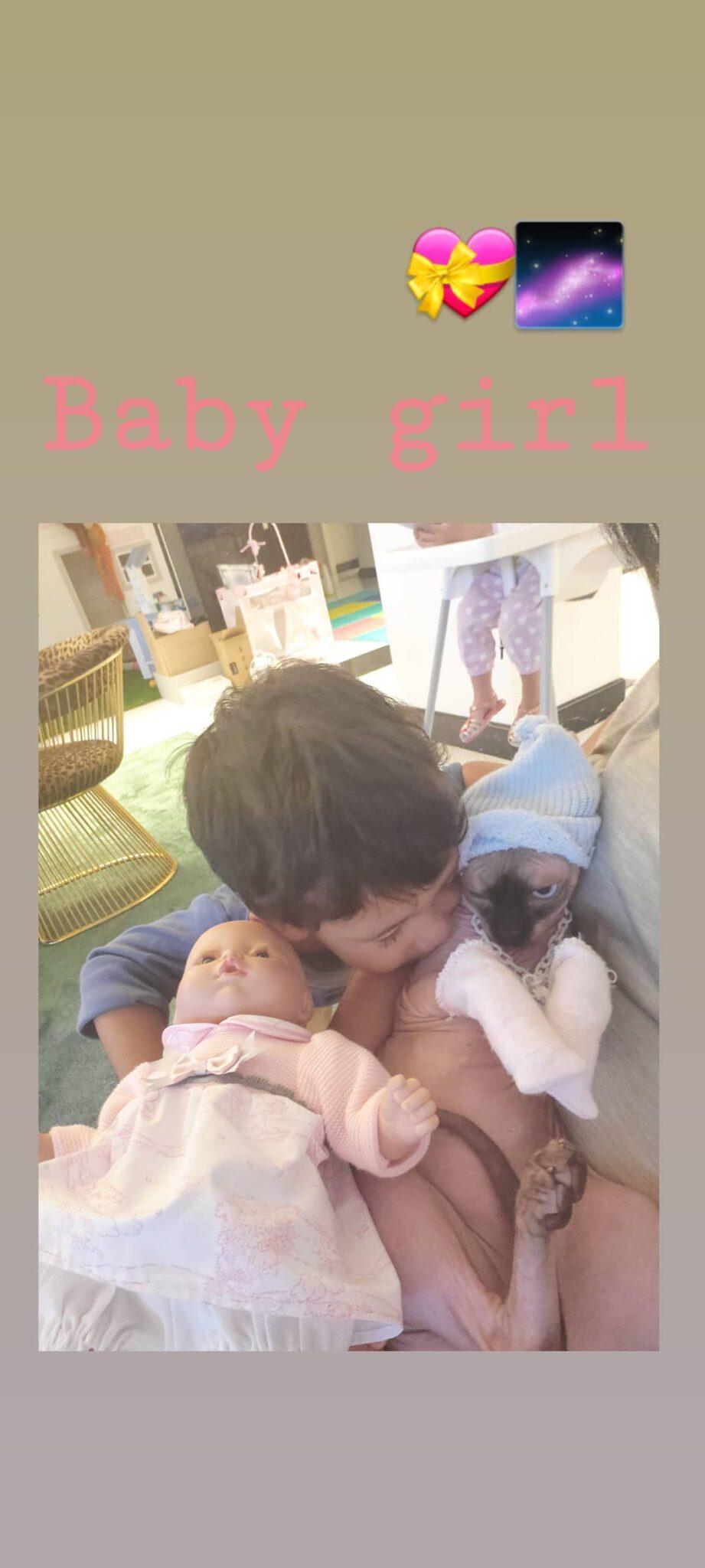 Georgina Rodriguez Mateo Scaled Georgina Rodríguez Revela Momento De Brincadeira Do Filho Com A Sua Gata