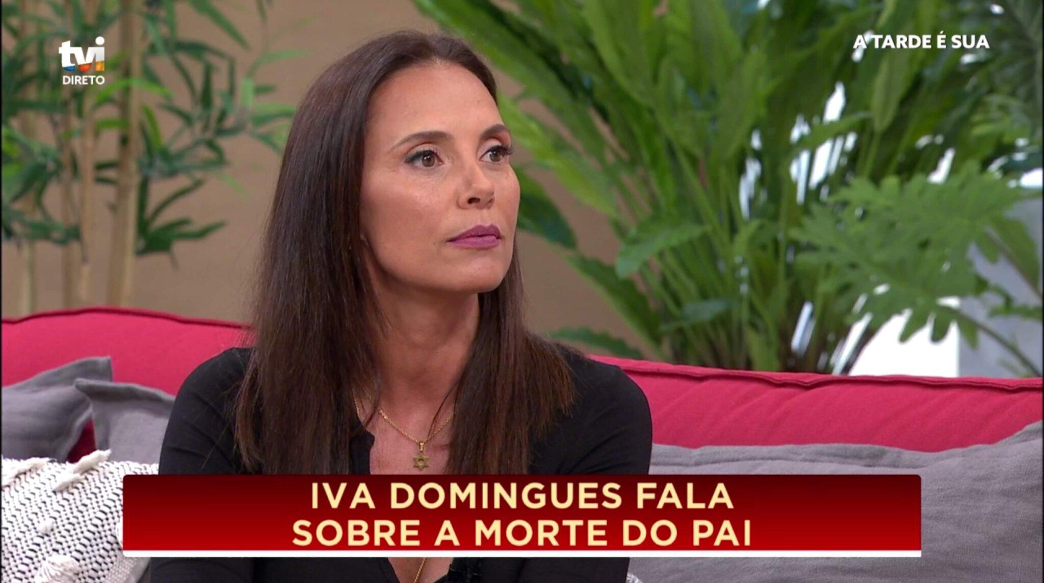 "Iva Domingues 1 Scaled Iva Domingues Recorda Morte Do Pai: ""Foi Um Choque Brutal Na Minha Vida"""