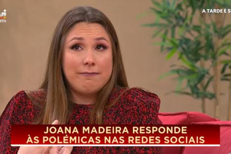 Joana Madeira Joana Madeira Em Lágrimas Por Causa De Comentários De Ódio Que Recebeu