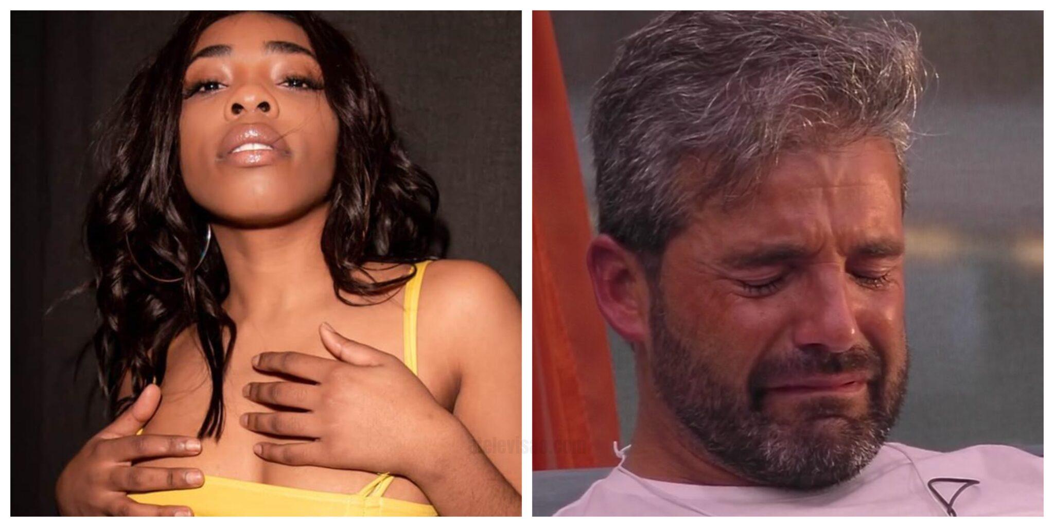 Lia Helder Big Brother Scaled Eliane De 'Love On Top' Insultada Após Criticar Hélder E Pedro Alves: &Quot;Devias Ser Escrava&Quot;
