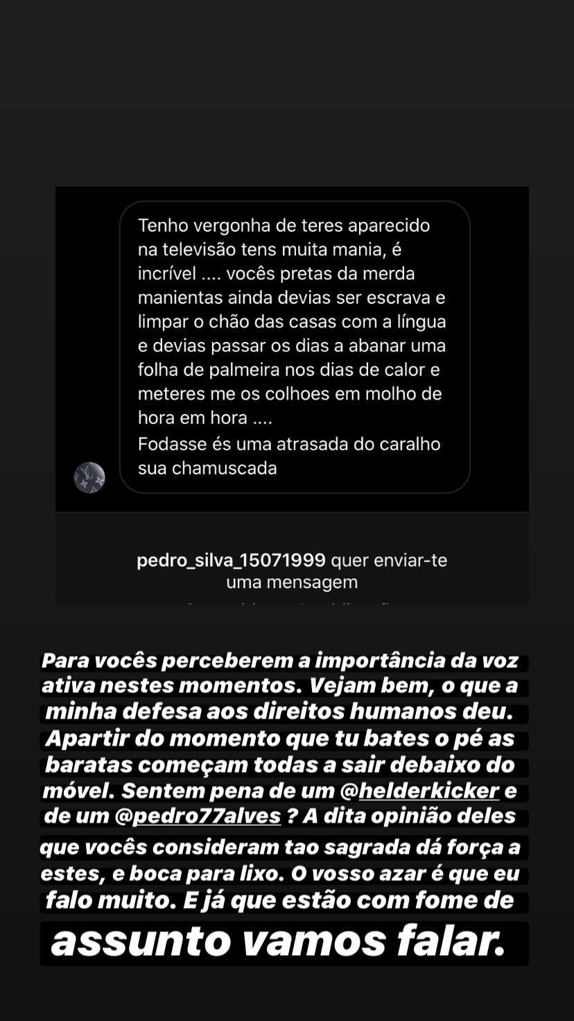 Lia Love On Top Eliane De 'Love On Top' Insultada Após Criticar Hélder E Pedro Alves: &Quot;Devias Ser Escrava&Quot;