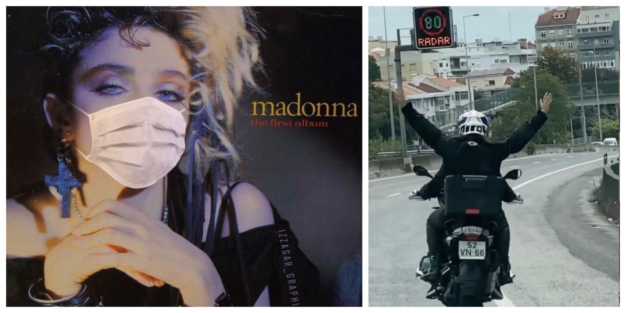Madonna Lisboa Scaled Madonna Mostra-Se A Andar De Mota Em Lisboa Depois De Ter Sido Infetada Com Covid-19