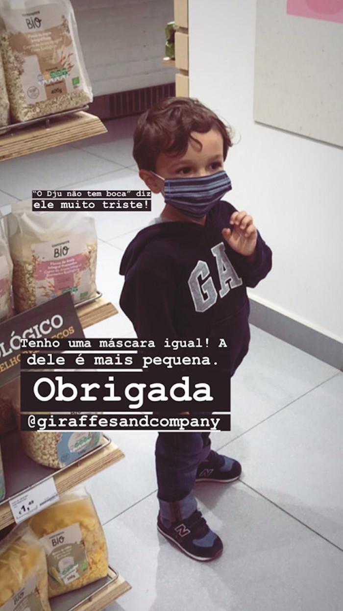 Maria Cerqueira Gomes Filho Joao Maria Cerqueira Gomes Mostra Rosto Dos Filhos Em Direto