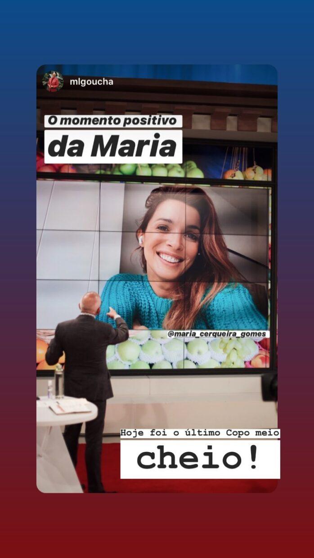 Maria Cerqueira Gomes Tvi. Maria Cerqueira Gomes Despede-Se De Goucha E Do 'Você Na Tv'