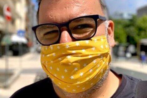 Nuno Azinheira Comentador Do 'Passadeira' Adere À &Quot;Moda&Quot; Das Máscaras E Contribui Para Uma Causa