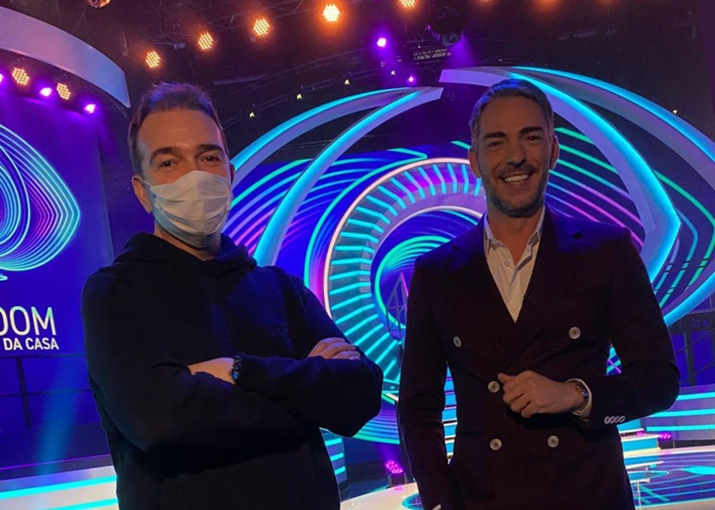 Nuno Santos Claudio Ramos Nuno Santos Explica A Razão Da Voz Da 'Casa Dos Segredos' Estar No 'Big Brother'