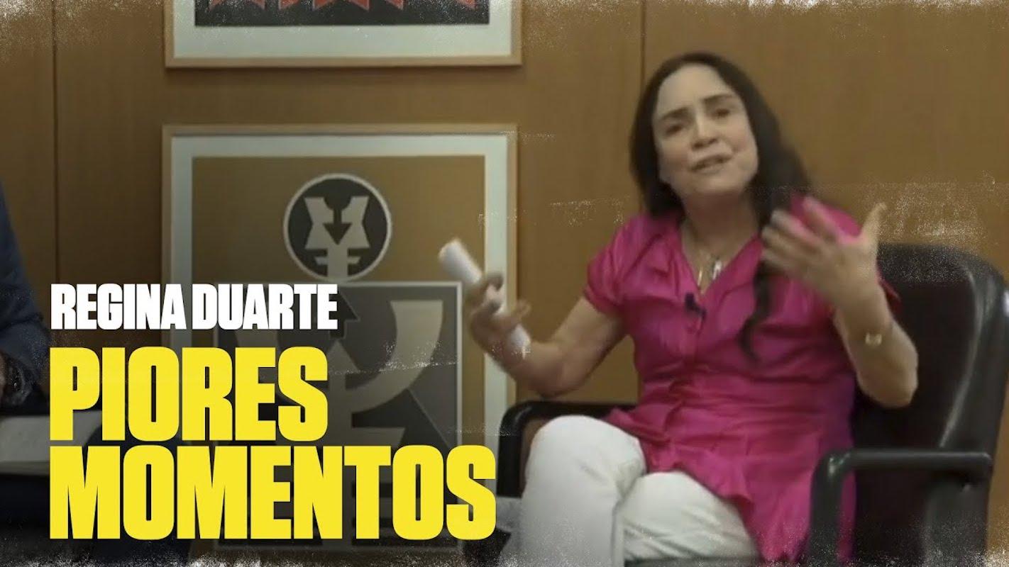 Regina Duarte Entrevista Regina Duarte Irrita-Se Em Direto E Abandona Entrevista