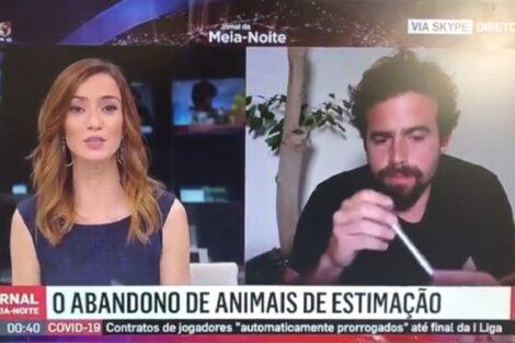 Rosa Oliveira Pinto Joao Manzarra João Manzarra Aceita O Desafio E Diz A Palavra &Quot;Sémen&Quot; Na Sic Notícias