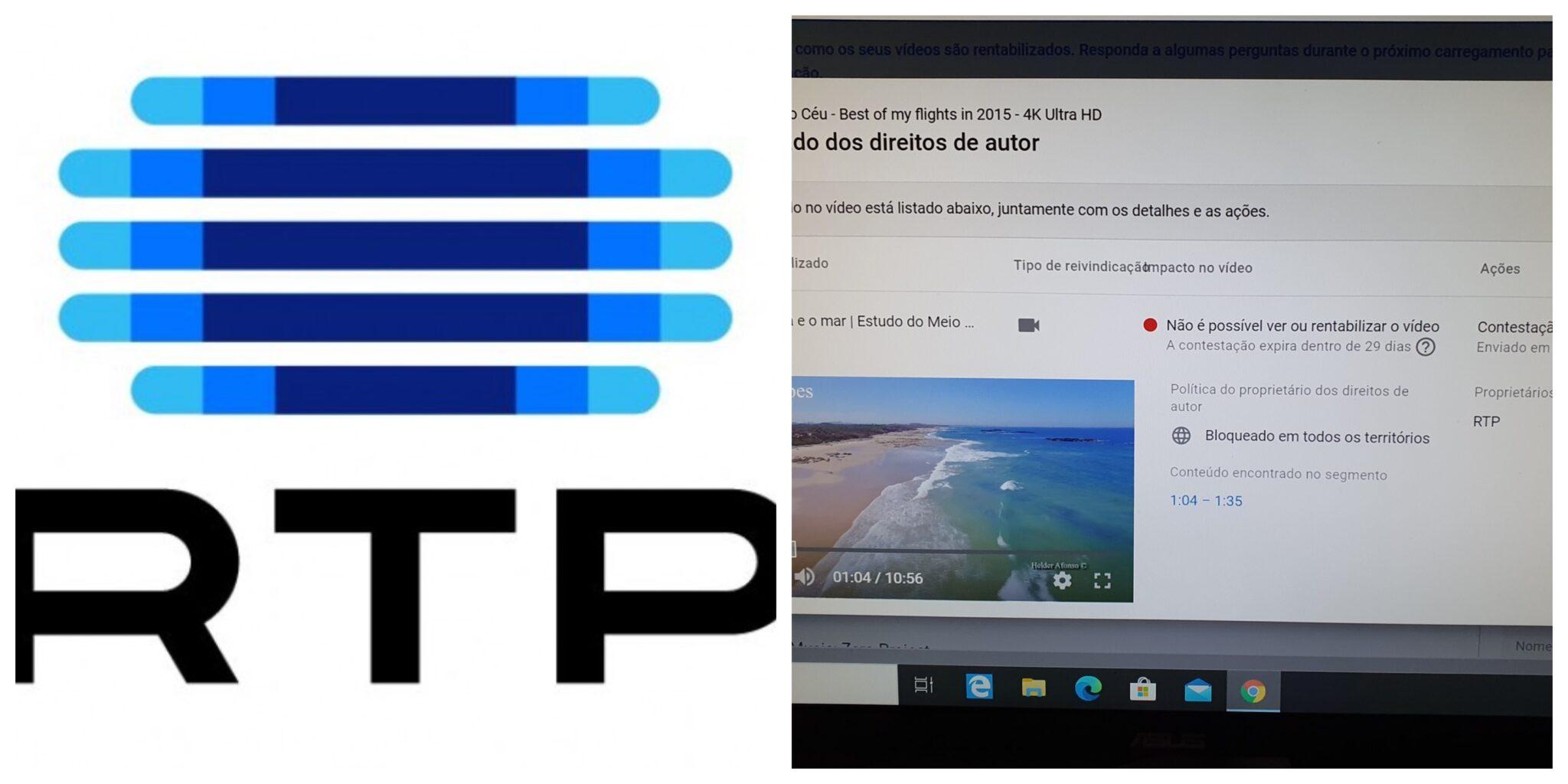Rtp Direitos Scaled Telescola. Rtp Apodera-Se Indevidamente Dos Direitos De Vídeos De Autor Português No Youtube