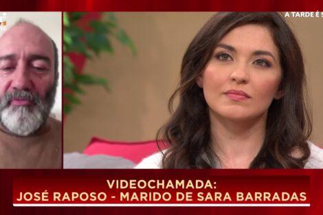 """Sara Barradas Jose Raposo Sara Barradas Declara-Se A José Raposo: """"O Zé Foi A Melhor Coisa Que Me Aconteceu Na Vida"""""""