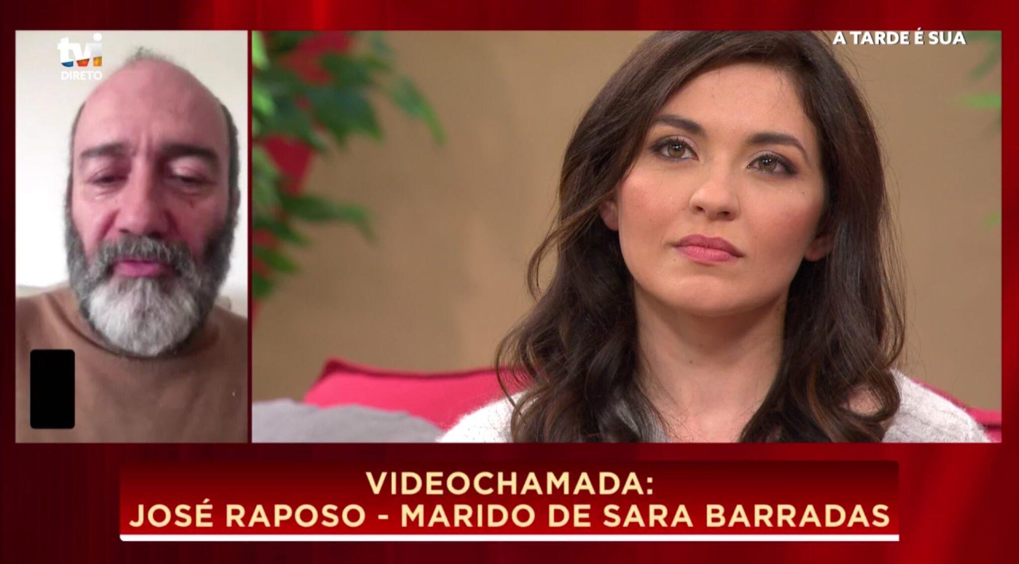 """Sara Barradas Jose Raposo Scaled Sara Barradas Declara-Se A José Raposo: """"O Zé Foi A Melhor Coisa Que Me Aconteceu Na Vida"""""""