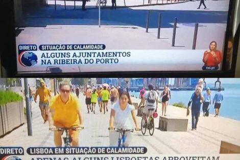 "Tvi Lisboa Porto 2 Tvi Volta A Ser Arrasada Pelos Telespetadores: ""Há Limites Para A Falta De Profissionalismo&Quot;"