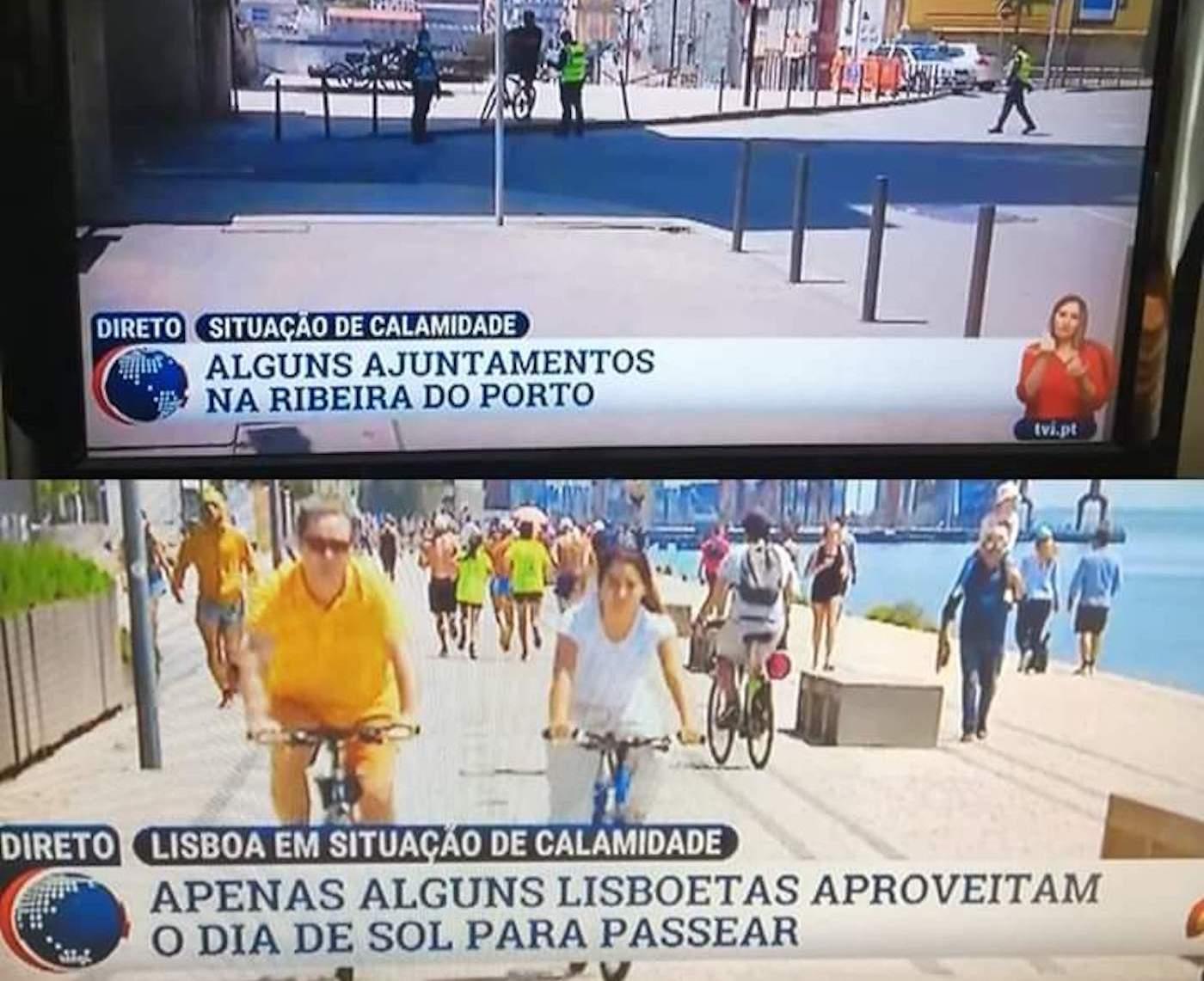 """tvi lisboa porto 2 TVI volta a ser arrasada pelos telespetadores: """"Há limites para a falta de profissionalismo"""""""