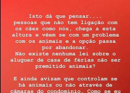Vanessa Martins 3 Vanessa Martins Procura Casa De Férias Para Alugar E Mostra-Se Desiludida