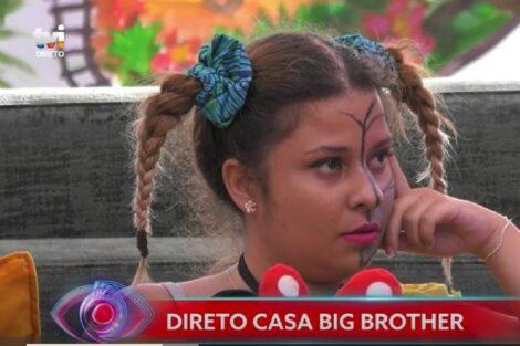 """Sandrina Big Brother 2020. Sandrina emociona-se: """"Eu não sei qual é o mal que faço à Teresa"""""""