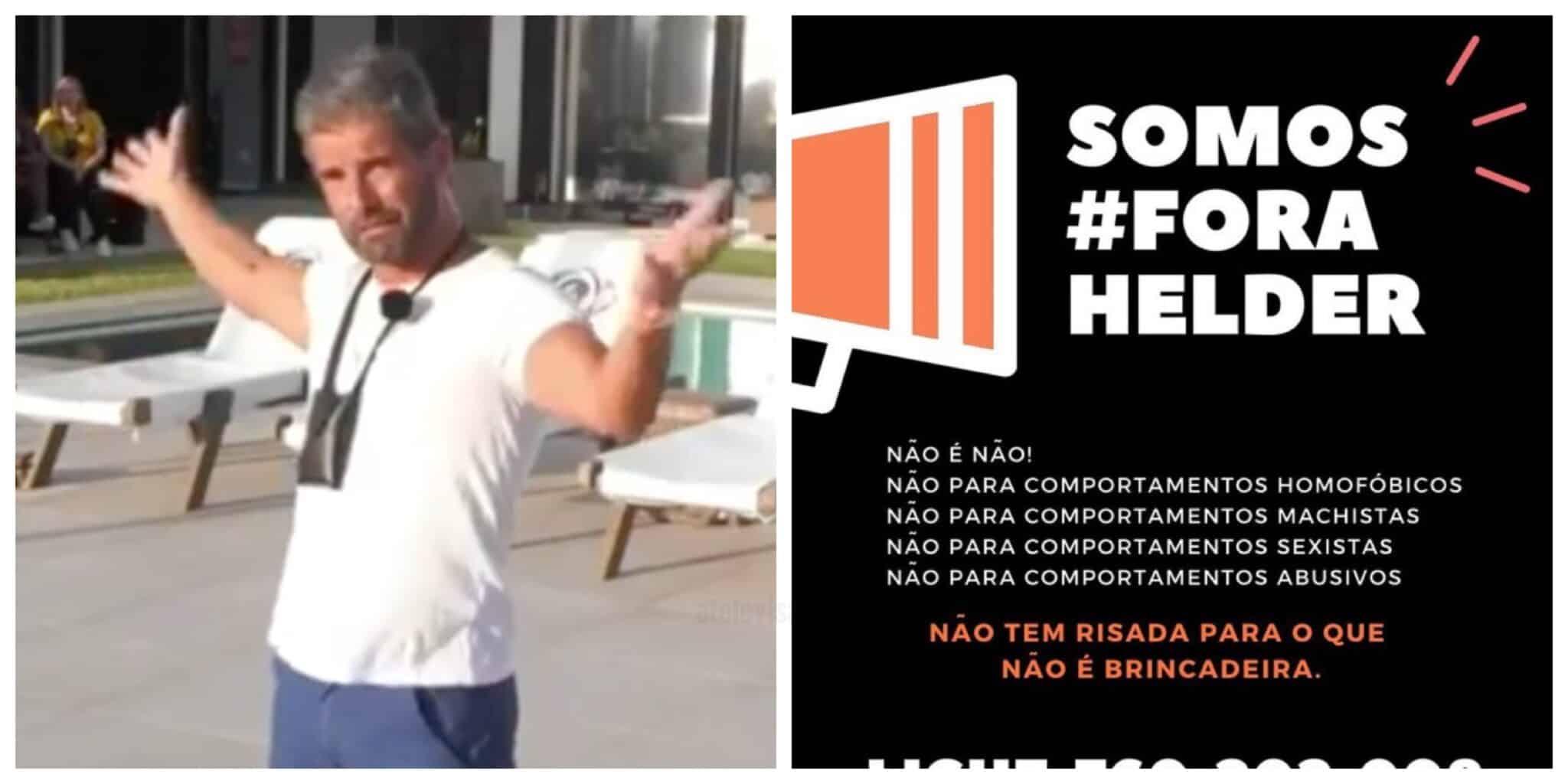 Big Brother Helder Scaled Portugueses Querem Hélder Fora Do 'Big Brother'