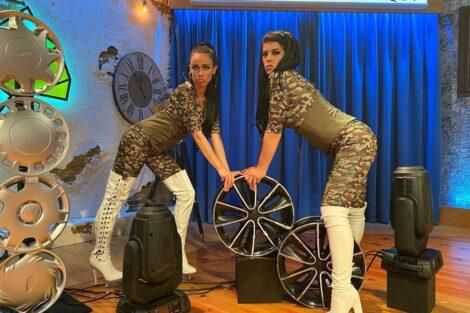 filomena cautela ines lopes goncalves Filomena Cautela e Inês Lopes Gonçalves fazem paródia com música de Ana Malhoa