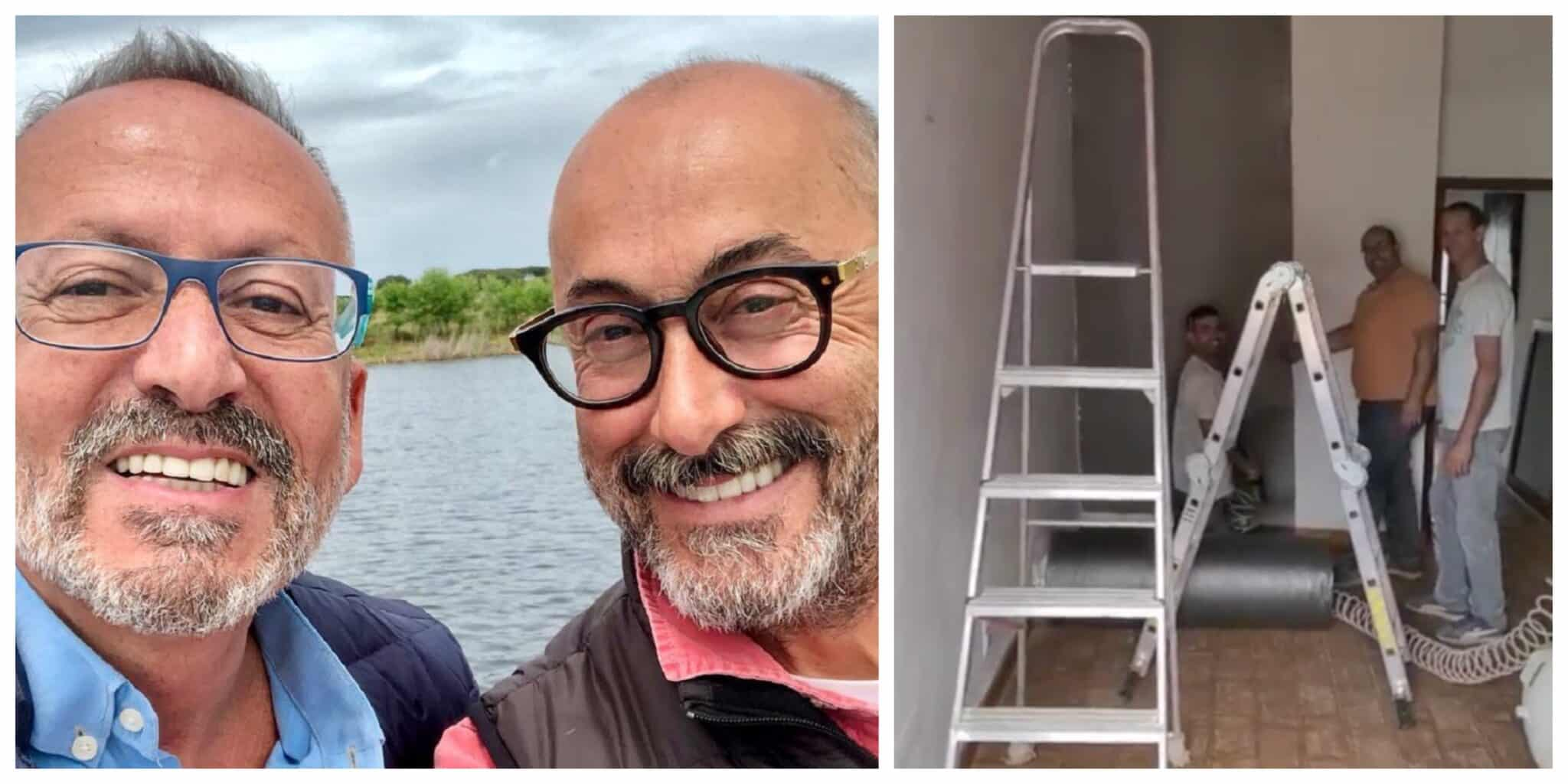 Goucha Rui Oliveira Obras Scaled Goucha Mostra Obras No Monte E É Alvo De Críticas