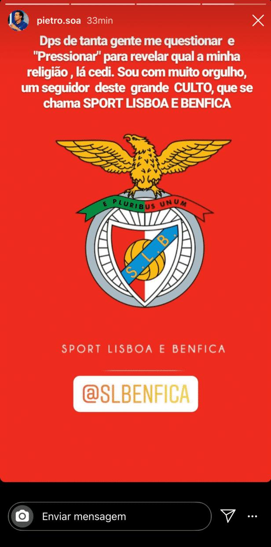 Pedro Soá Benfica Pedro Soá &Quot;Faz As Pazes&Quot; Com Pipoca Por Causa Do... Benfica!