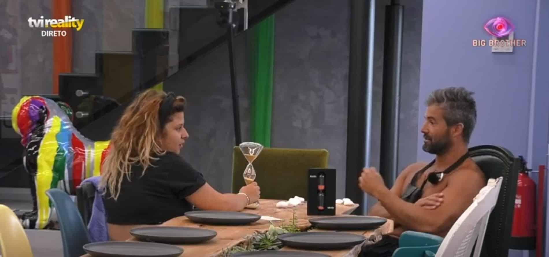 """sandrina e helder Big Brother. Teresa arrasa Hélder: """"Não tens vergonha de dizer isso a uma miúda de 21 anos"""""""