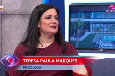 Teresa Paula Marques Big Brother