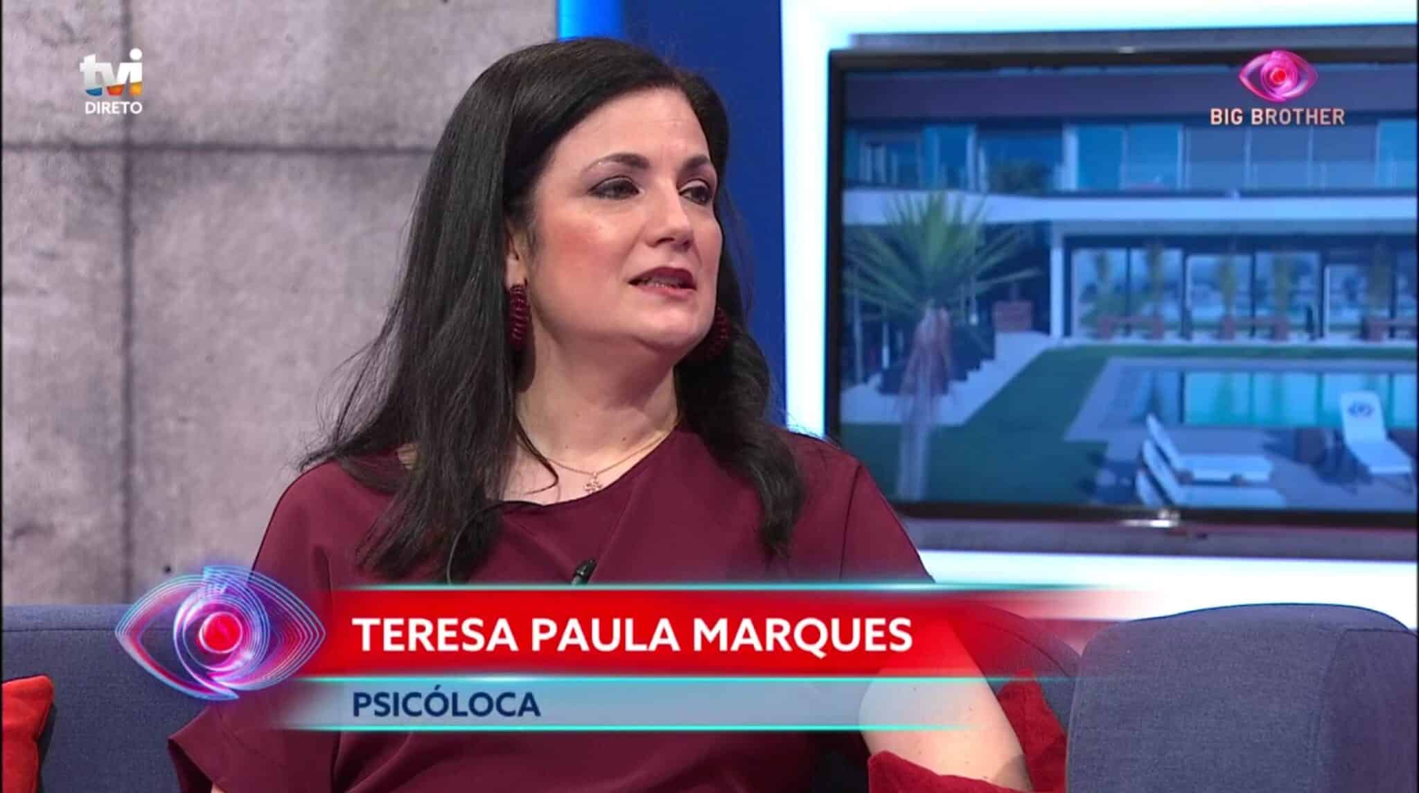Teresa Paula Marques Big brother