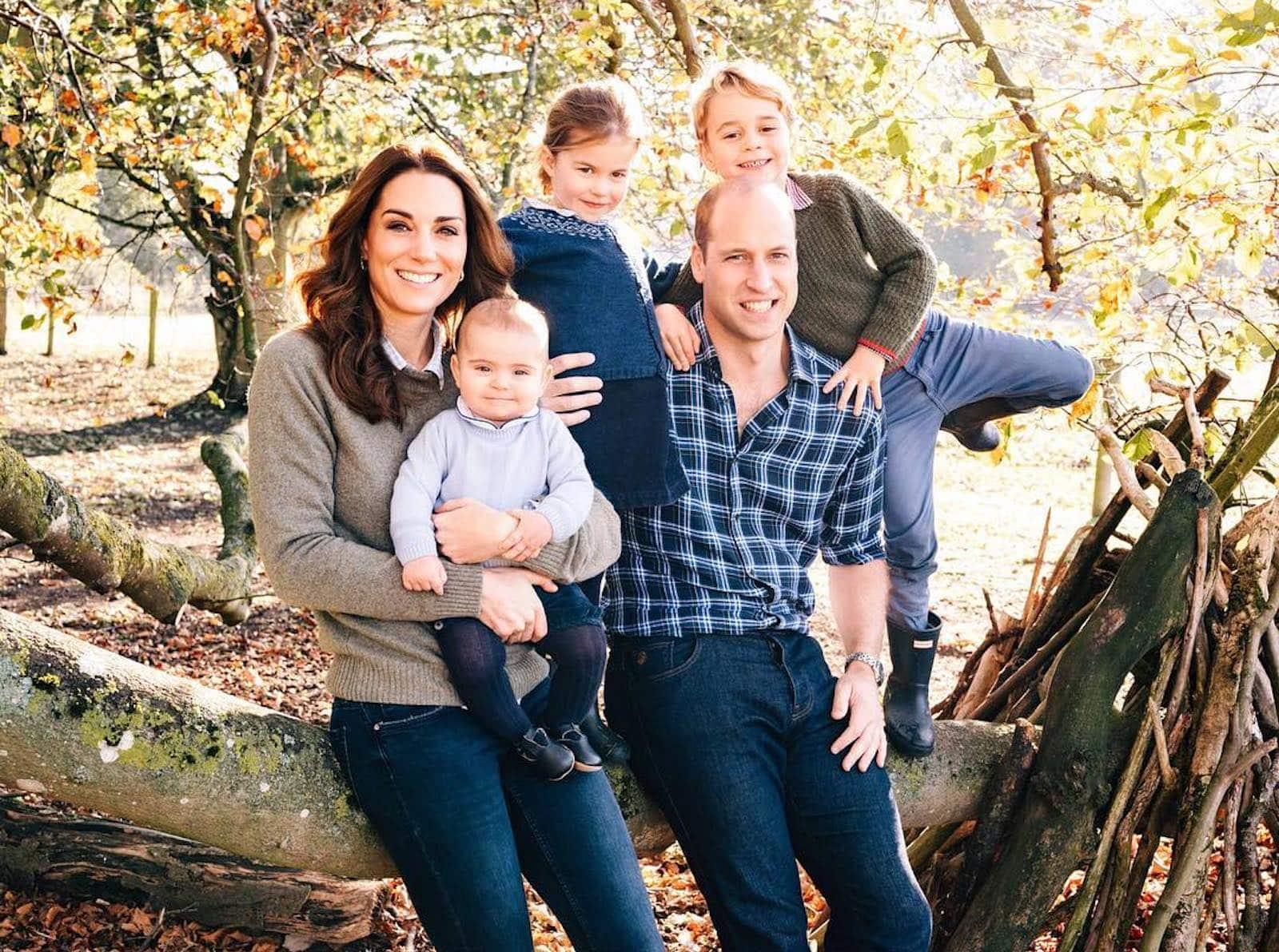 William Kate Middleton Filhos