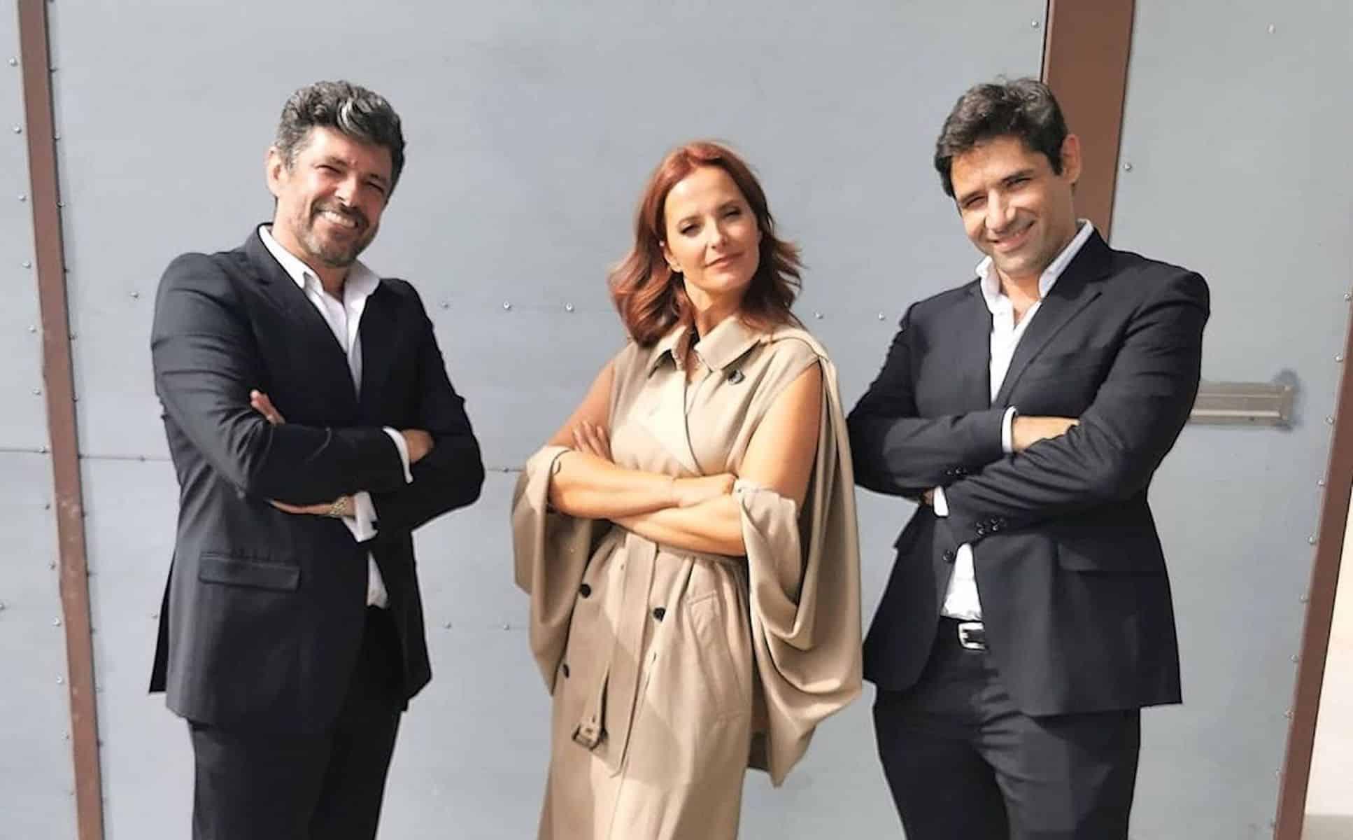 João Patrício, Cristina Ferreira, André Manso