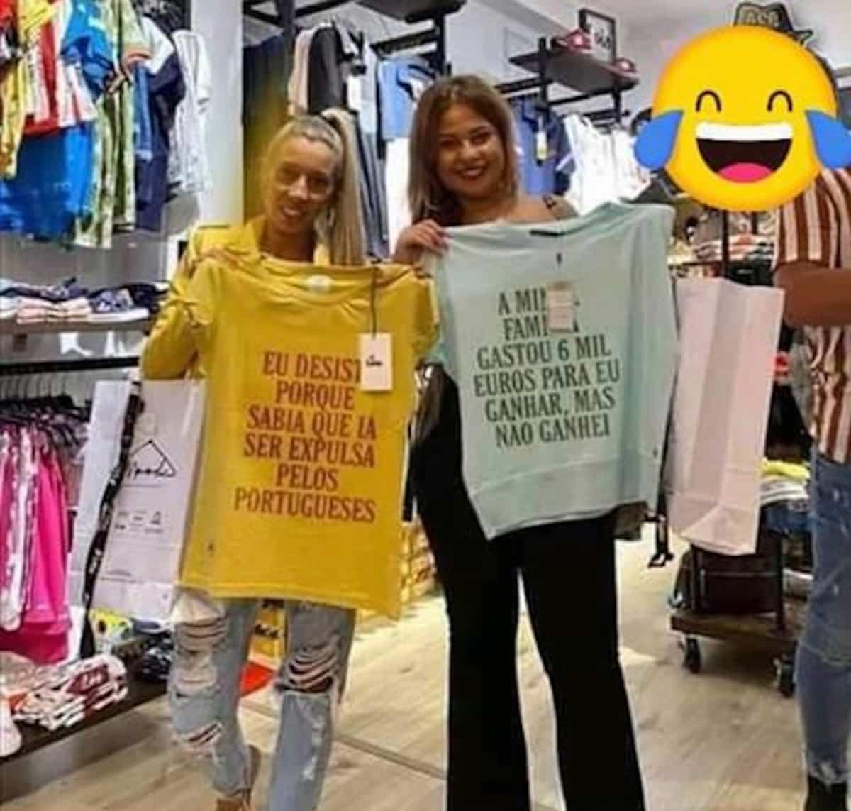 Sonia-Sandrina-big-brother-Tshirts