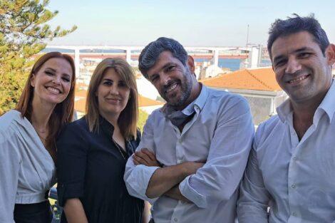 Cristina Ferreira, Lurdes Guerreiro, João Patrício, André Manso