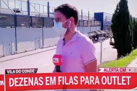 jornalista cmtv responde buzinadela