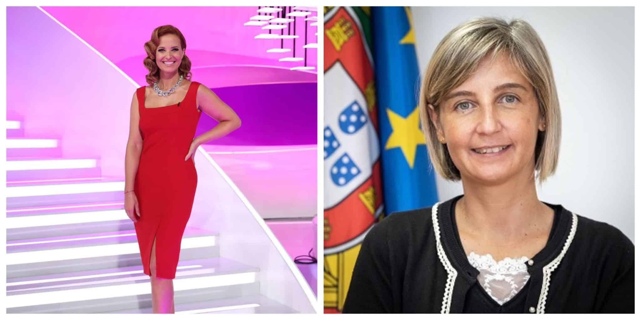 Cristina Ferreira Marta Temido